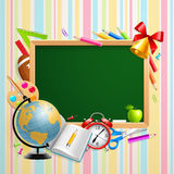 Back to school background with place Royalty Free Stock Photography