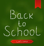 Back to school background with ribbons Royalty Free Stock Photography