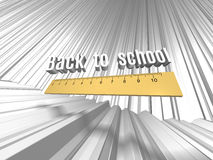 Back to school background. Stock Images