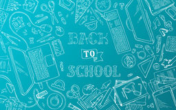Back to School Background. Stock Photo
