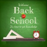 Back to school background template. EPS 10 Stock Photography