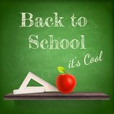 Back to school background template. EPS 10 Stock Photos
