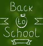Back to school background with text Royalty Free Stock Photo