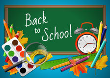 Back to school background Stock Photography