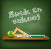 Back to school background. Royalty Free Stock Photo