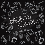 Back to school background vector Stock Image