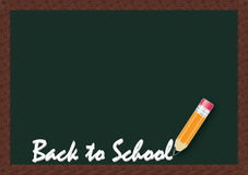Back to school background. A vector illustration of back to school background Stock Photography