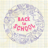 Back to school background Royalty Free Stock Images