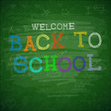 Back to school background, vector illustration. Stock Photos