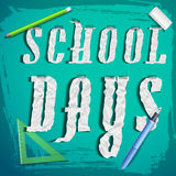Back to school background Stock Images