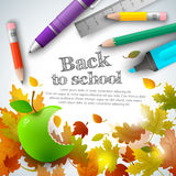 Back to school background Stock Photos