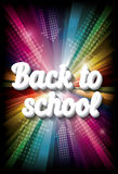 Back to school background. Vector illustration. Stock Photo