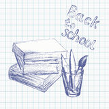 Back to school background 4 Royalty Free Stock Photography