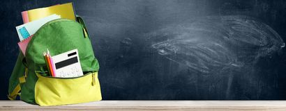 Free Back To School Backpack. Stock Images - 121510424