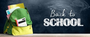 Free Back To School Backpack. Royalty Free Stock Images - 121811309