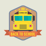 Back to School Badge Stock Photography