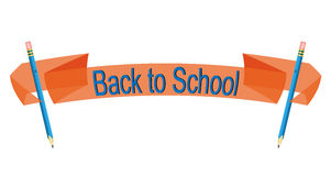 Back to school banner Royalty Free Stock Photos
