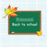 Back to School banner Royalty Free Stock Images