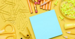Back to school banner sized image royalty free stock image
