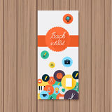 Back to school banner. Royalty Free Stock Photo