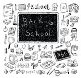 Back to school, Banners and Bookmarks, vector illustration Stock Photos