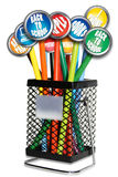 Back to School Bin Royalty Free Stock Photo