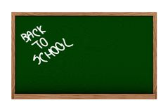 Back to school - blackboard Royalty Free Stock Photos