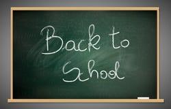 Back to school blackboard Royalty Free Stock Photography