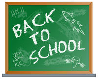 Back to School Blackboard Royalty Free Stock Image