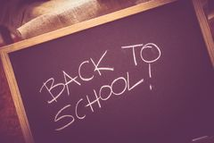 Back to School Blackboard Stock Photos