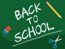 Back To School - board Stock Photo