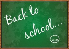 Back to School Board Royalty Free Stock Images