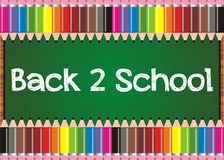 Back to school board Stock Image