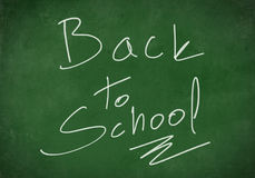 Back to School Board Background Stock Photography