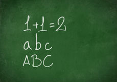 Back to School Board Background Stock Images