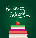 Back to school with books Royalty Free Stock Images