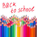 Back to school border Stock Images
