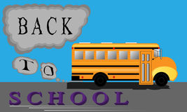 Back to School Bus Stock Images