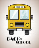 Back to school bus Royalty Free Stock Photography