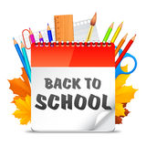 Back To School Calendar Stock Images
