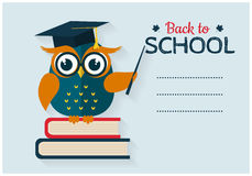 Back to school card Royalty Free Stock Photo