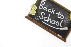 Back To School Cardboard Sign Royalty Free Stock Photos