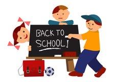 Back to school cartoon Stock Photos
