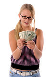 Back To School Cash 1 Stock Photos