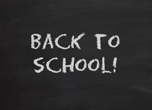 Back to school chalkboard Royalty Free Stock Photo