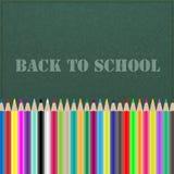 Back to school chalkboard Stock Image