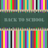 Back to school chalkboard Stock Photo