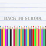 Back to school chalkboard Stock Photos