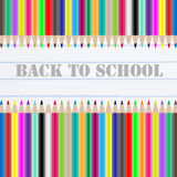 Back to school chalkboard Royalty Free Stock Image