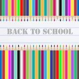 Back to school chalkboard Royalty Free Stock Image